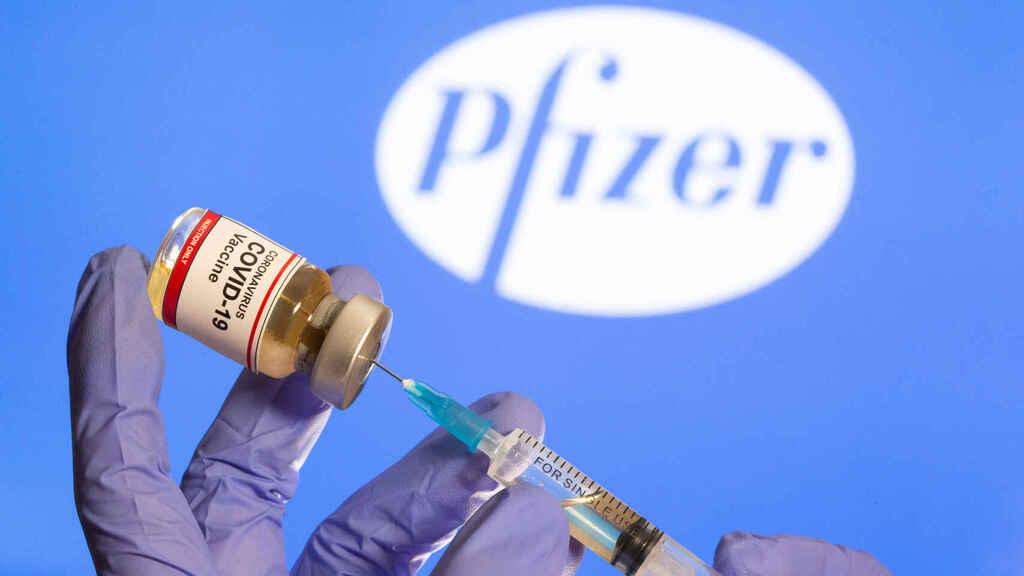 Vacuna Pfizer. Foto: Referencia.