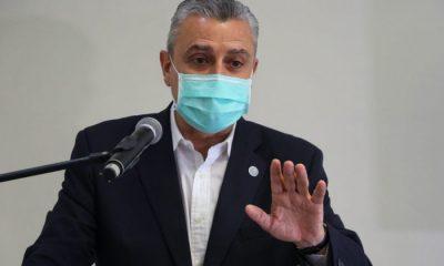 Juan Ernesto Villamayor a punto de ser interpelado en la Cámara de Diputados por su papel en el negociado secreto con Juan Guaidó. Foto: Archivo