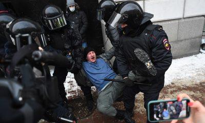 Hubo varios detenidos tras las manifestaciones. Foto: Télam