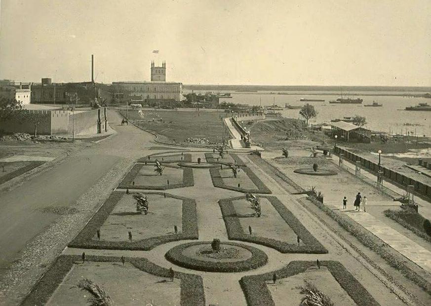 Jardines de la antigua Costanera