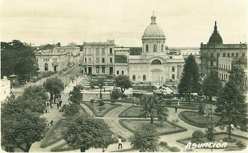 Plaza del Mercado, actual Plaza O'Leary