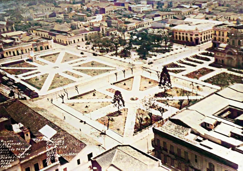 Plazas del microcentro