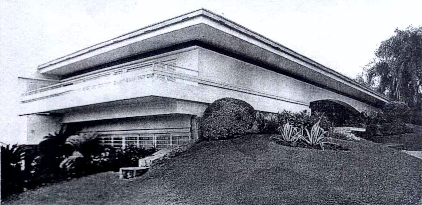 Casa Kostianovsky. Diseño de jardín de Jenaro Pindú
