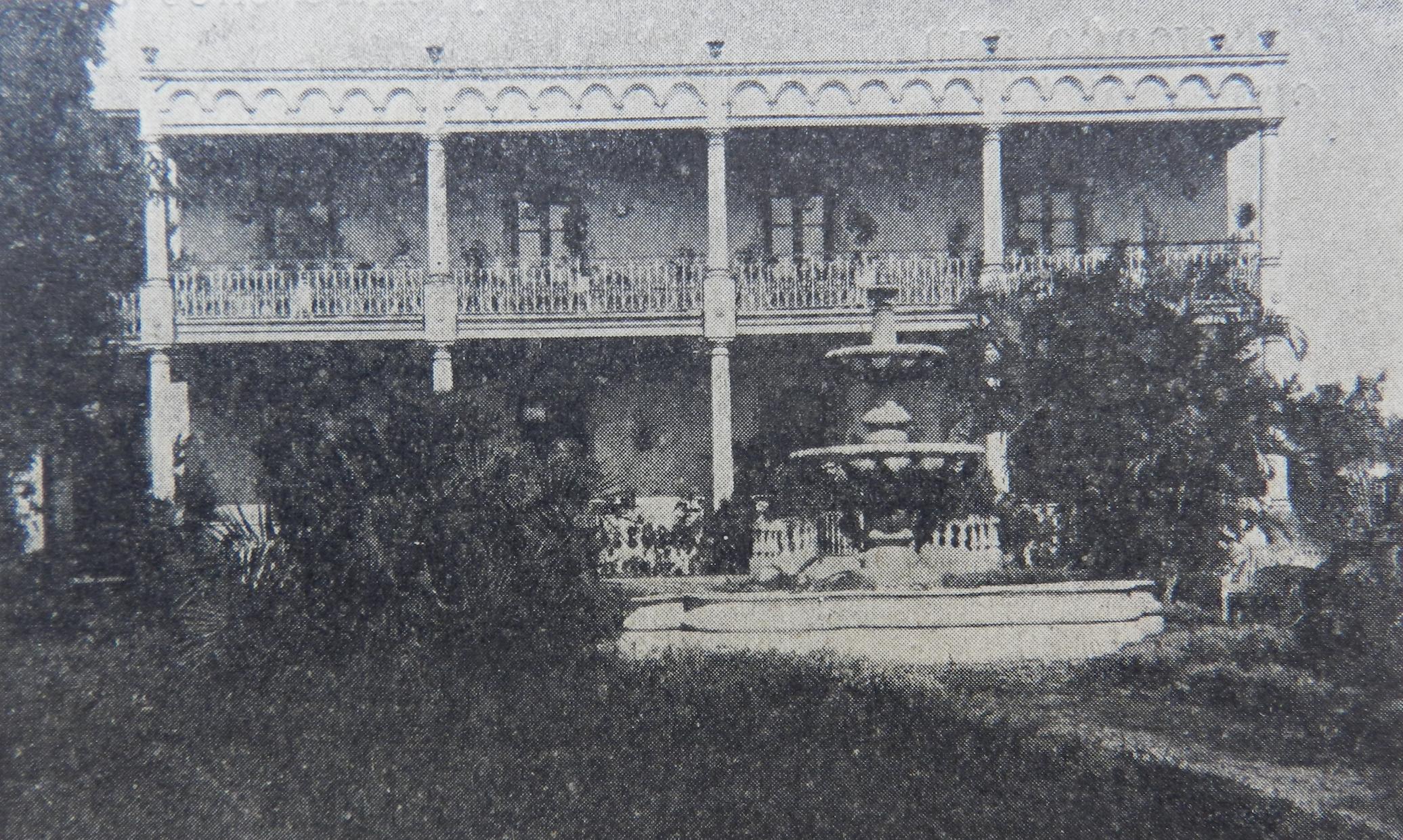 Jardín de la Quinta Meilicke, ca. 1910