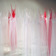 """Claudia Casarino, """"Trastornos del sueño"""", camisones de tul, 2011"""