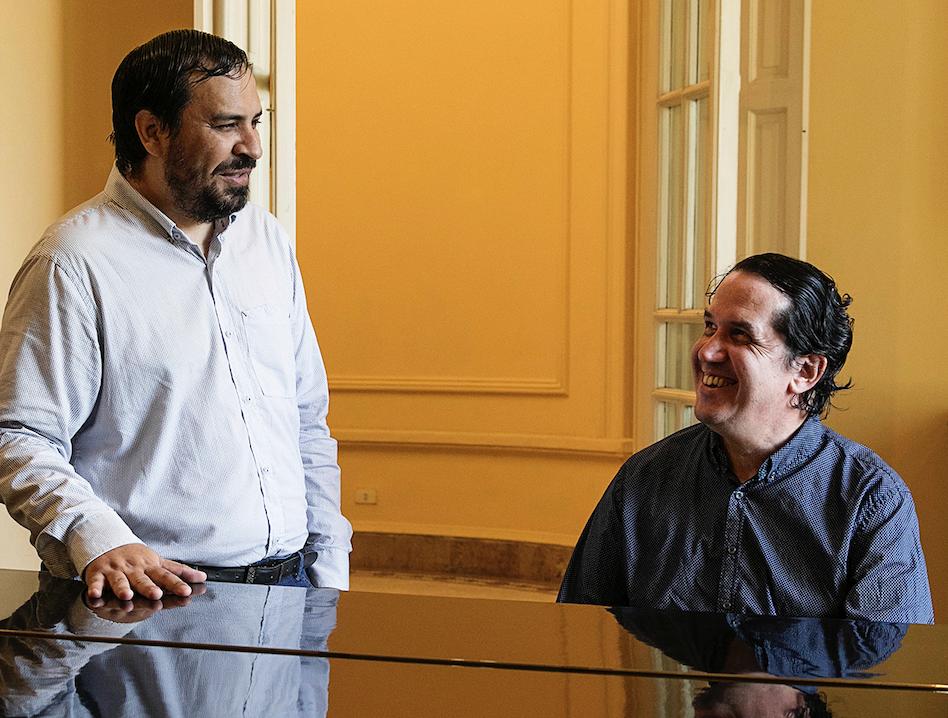 Javier Viveros y Diego Sánchez Haase © Laura Mandelik