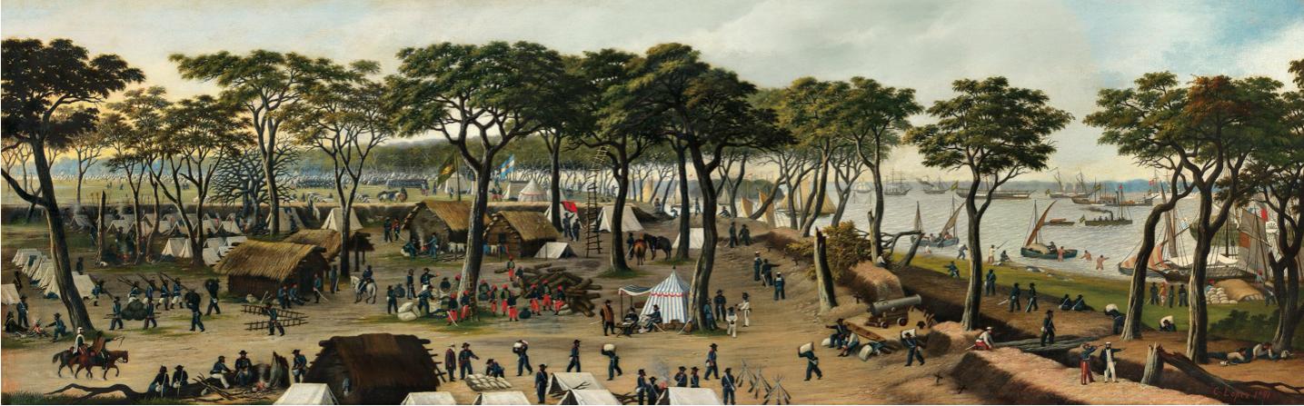 Cándido López, 1891. MNBA, Buenos Aires