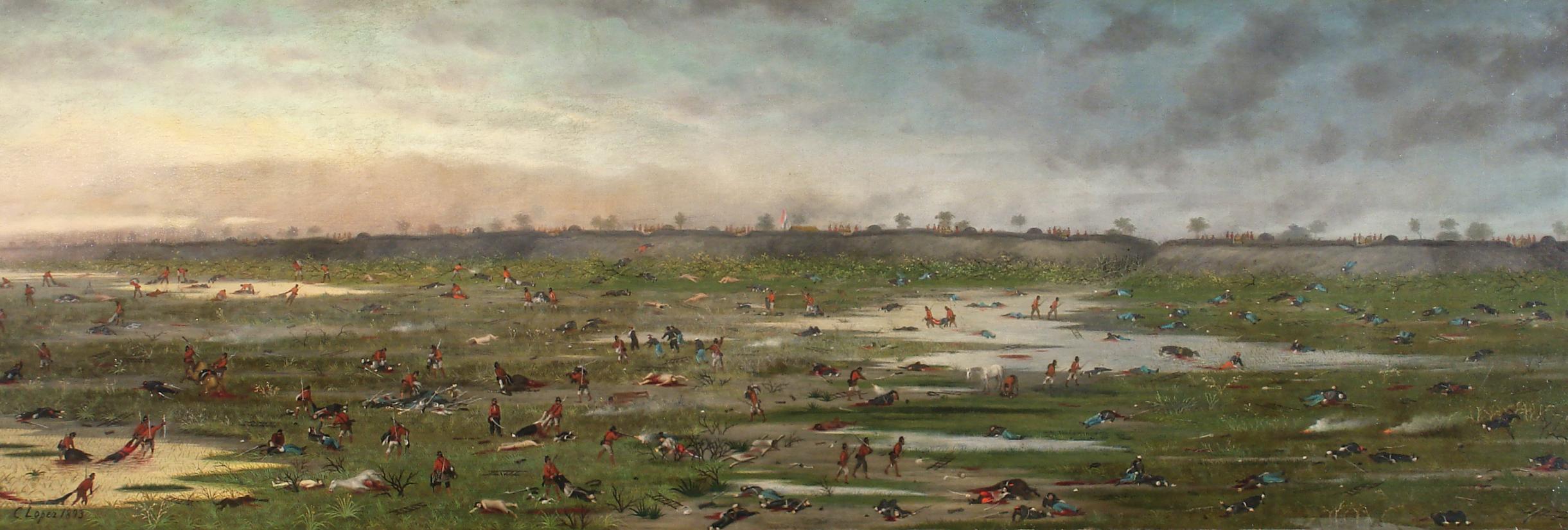 Cándido López, Después de la Batalla de Curupayty, 1893. MNBA, Buenos Aires