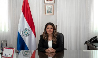 Cecilia Pérez, ministra de Justicia.
