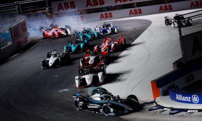 El holandés se impuso con claridad en la jornada inaugural del Campeonato del Mundo de Fórmula E. Foto: La Tercera.