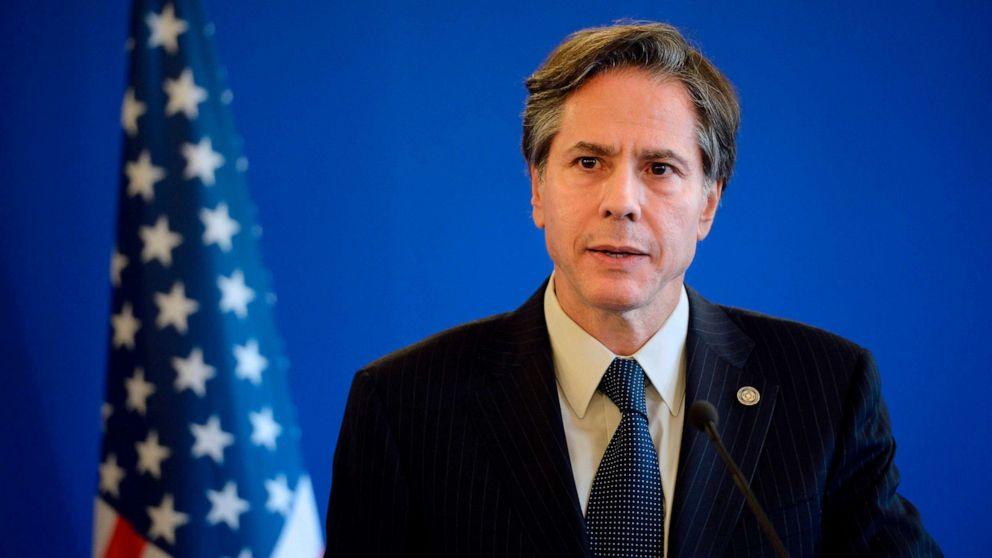 El secretario de Estado de Estados Unidos, Antony Blinken
