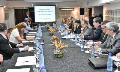 Comisión Asesora para revisión del Anexo C del Tratado de Itaipú. Foto: MRE.