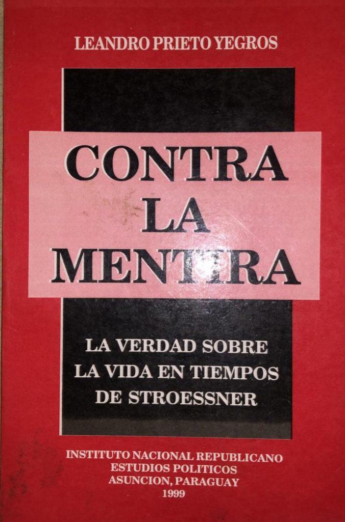 Libro de Leandro Prieto Yegros