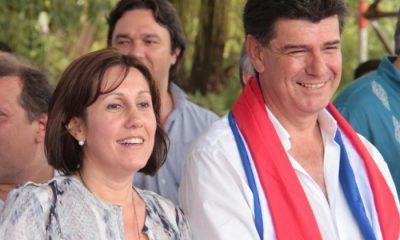 Efraín Alegre y su esposa Miriam Irún. Foto: Archivo