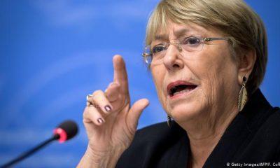 Michelle Bachelet, Alta Comisionado de Naciones Unidas para los Derechos Humanos. Foto: ONU