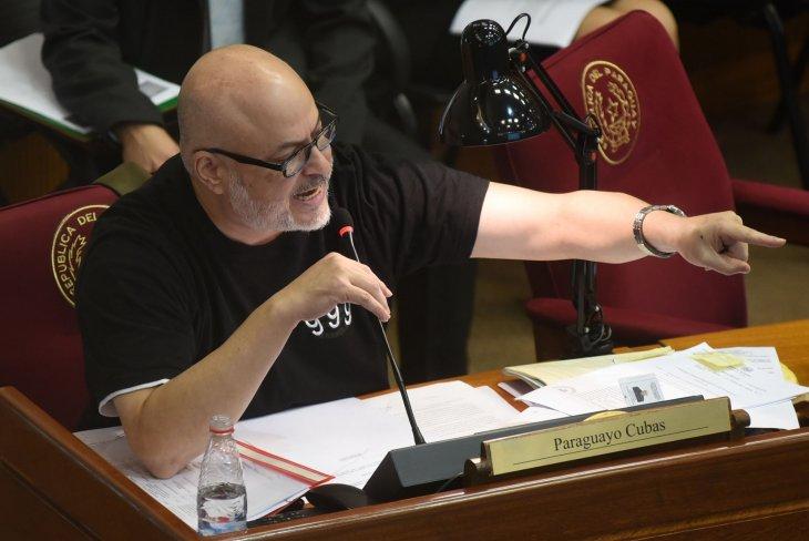 Paraguayo Cubas, fiel a su estilo, renunció a su partido por redes sociales. Foto: Archivo
