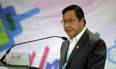 El presidente boliviano Luis Arce Catacora