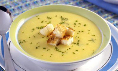 En los días frescos, la sopa es una excelente opción.