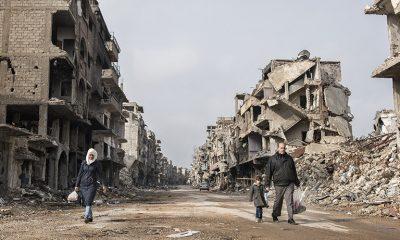 Siria quedó devastada en 10 años de guerra.