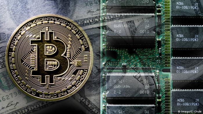 Bitcoin. Foto: DW