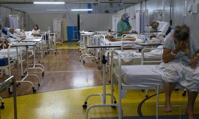 San Pablo es una de las ciudades más afectadas. Foto: Télam.
