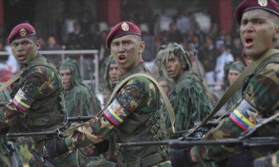 Maduro mantiene el control del país con apoyo de las fuerzas armadas.