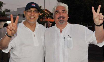Fernando Lugo y Pompeyo Lugo. Foto: Gentileza.