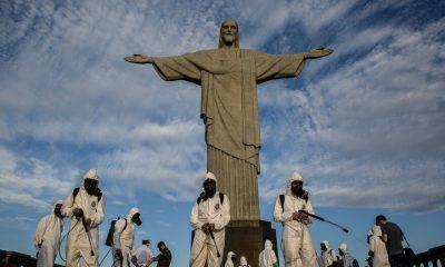 El martes, desde que comenzó la pandemia, Brasil tuvo un récord de 1700 muertes