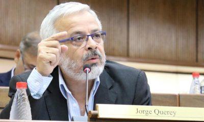 El senador Jorge Querey vaticina una catástrofe si el gobierno no retoma administración de la emergencia sanitaria. Foto: Parlamento