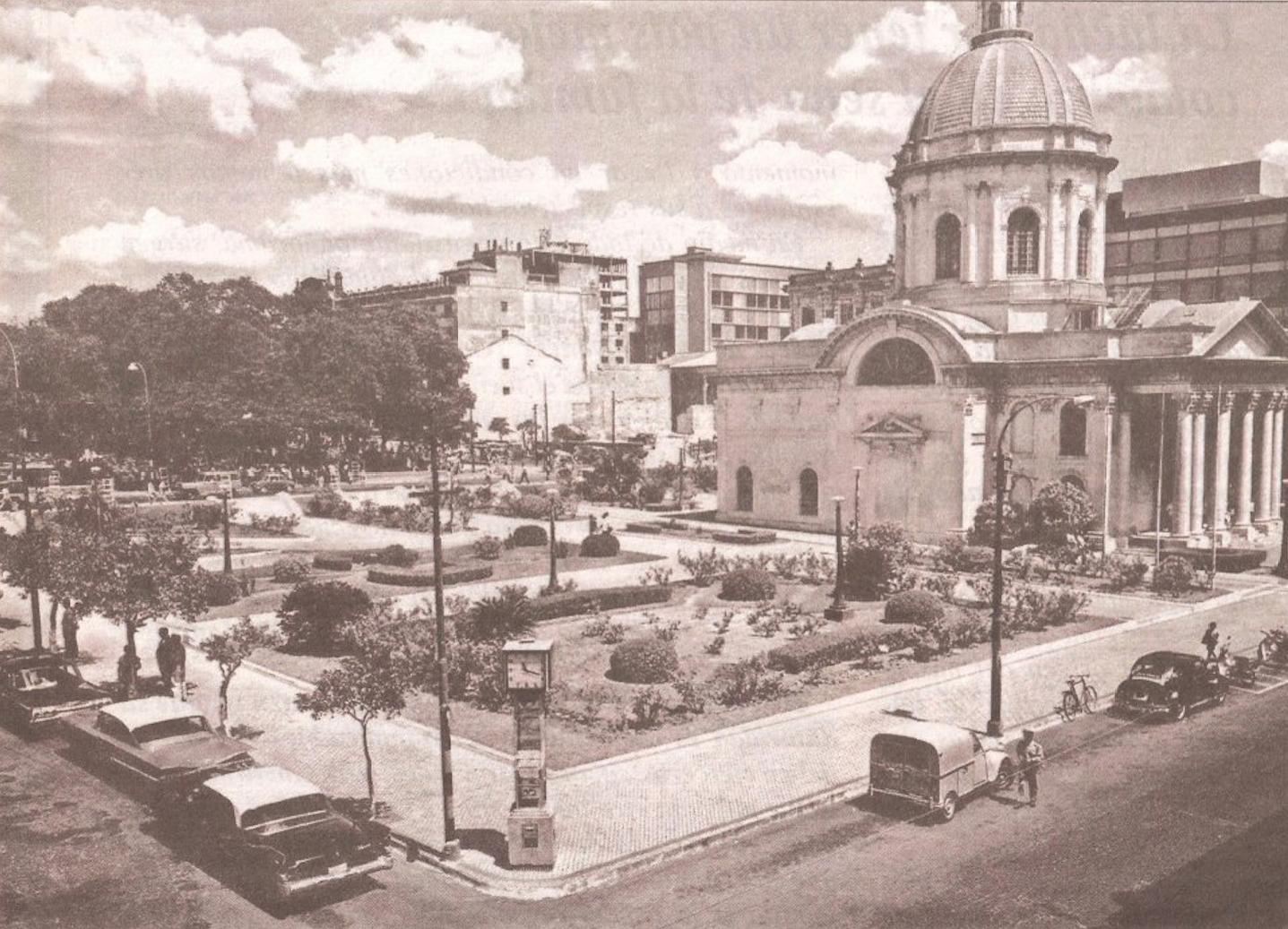 Plaza de los héroes ca 1967