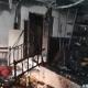 Las llamas destrozaron el sector de Colorado Róga en la sede partidaria de la ANR. Foto: Twitter