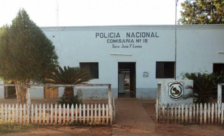Sede de la Comisaría Puentesiño. Foto: Gentileza.