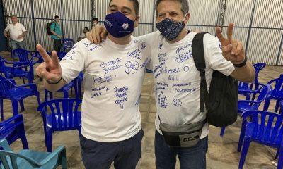 Eduardo Nakayama y Guillermo Willy Cortés. Foto: Twitter.