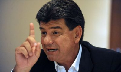 Efraín Alegre, presidente del PLRA. Foto: Twitter