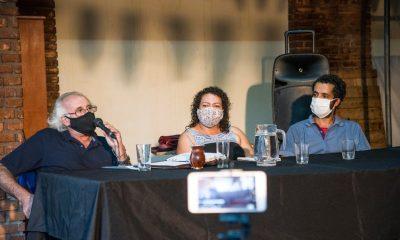 Organizaciones argentinas de derechos humanos en Asunción piden la búsqueda de la hija de Carmen Villalba desaparecida en el norte. Foto: Agustina Salinas