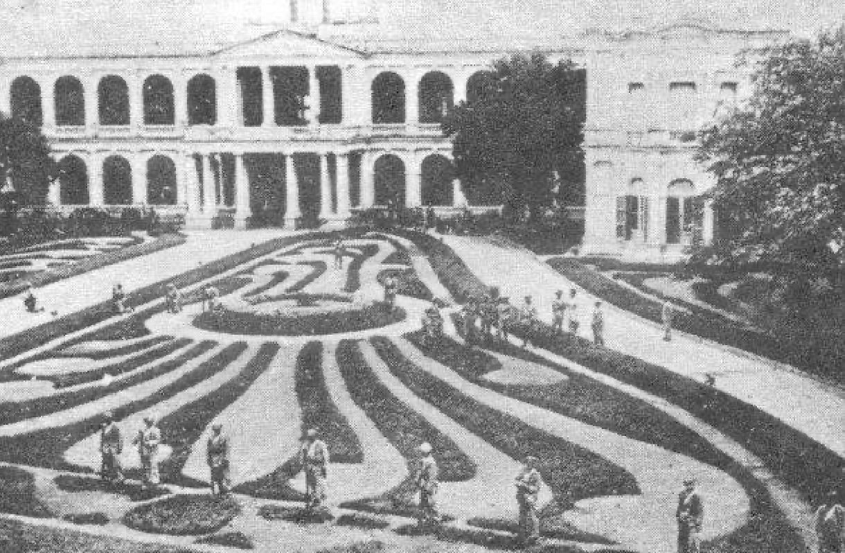 Jardines del Palacio de López