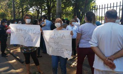 Ante la falta de respuestas de Salud Pública, familiares de pacientes traen medicamentos de Clorinda. Foto: Captura de pantalla