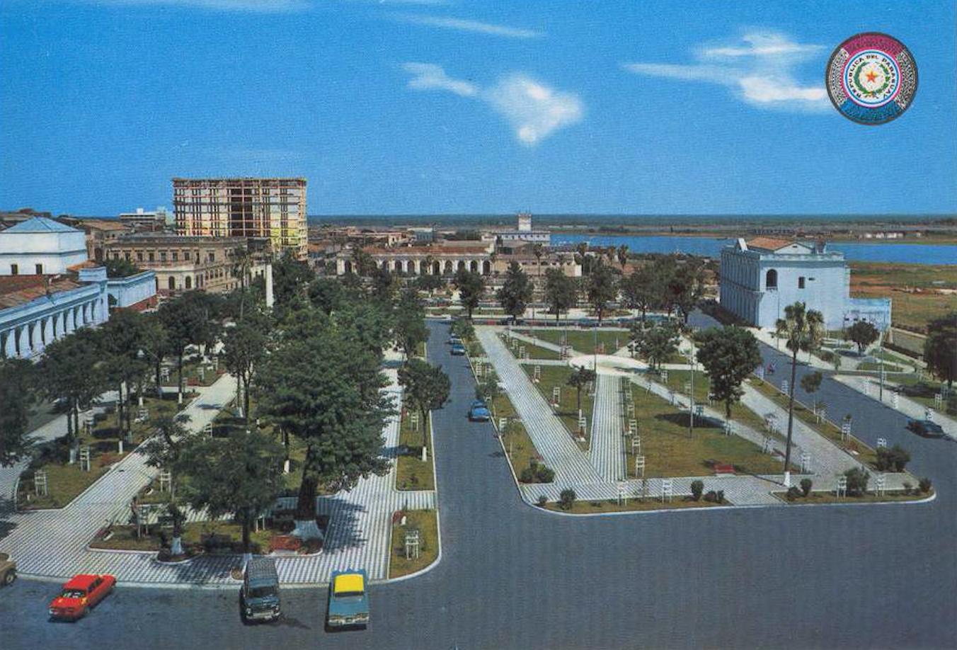 Plaza Constitución, ca 1970