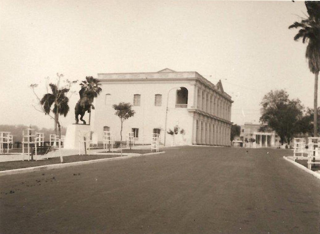 plaza de la antigua costanera ca 1960