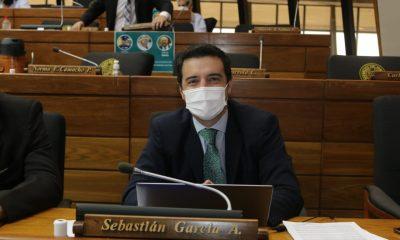 El Diputado Sebastián García, proyectista