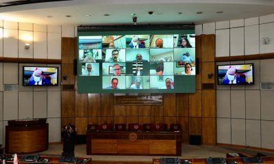 Cámara de Senadores. Foto: Gentileza