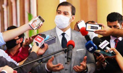El senador Silvio Ovelar. Foto: Gentileza.