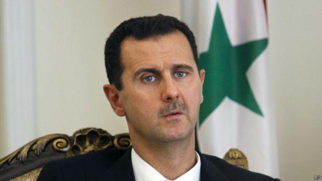 Bashar Al Asad. Foto: BBC