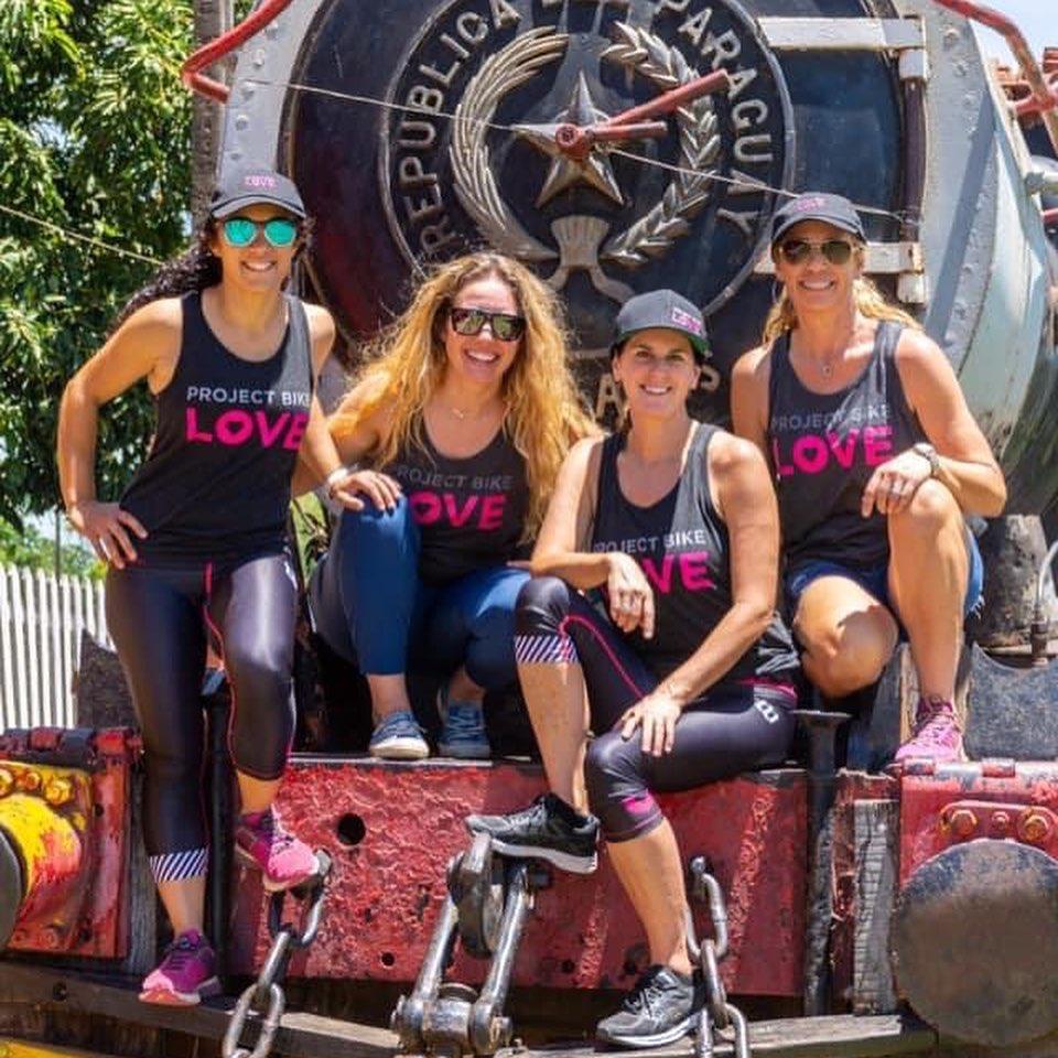 Las chicas de Project Bike Love. Foto: Gentileza.