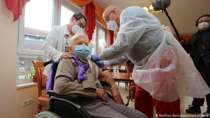 Vacunación en Alemania. Foto ilustrativa de archivo.