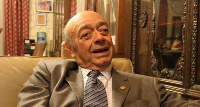 El ex senador Alfredo Jaeggli.