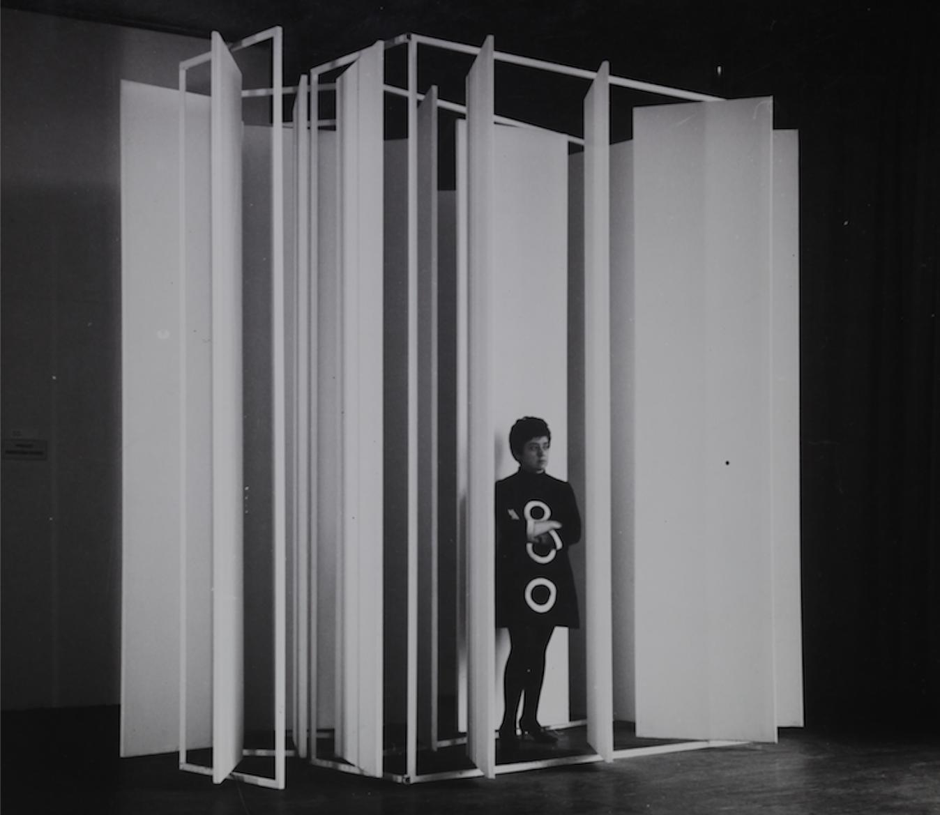 """Laura Márquez, """"Puertas inútiles"""", 1967. Colección CAV/Museo del Barro. Donación Constancia Gómez. Cortesía"""