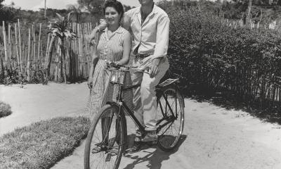Tiburcio González Rojas, década 60-70. Cortesía Fundación Texo