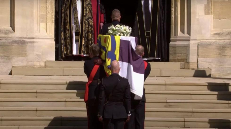 Comenzó ceremonia de funerales del Duque de Edimburgo. Foto: El país.