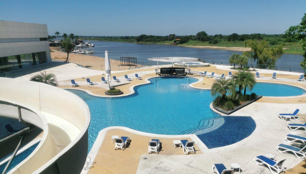 La piscina de Veranda, lista para ser disfrutada. Foto: Destino Yacht, estadía completa, ofrece el lujo de tener espacio. Foto: Gentileza Resort Yacht y Golf Club Paraguayo
